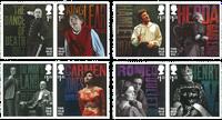英国新邮 老维克剧院纪念邮票 戏剧 艺术 - 新票套票8枚