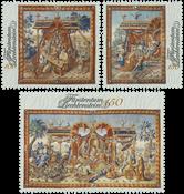 Liechtenstein - Fyrstens gobeliner - Postfrisk sæt 3v
