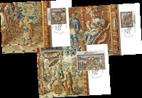 Liechtenstein - Fyrstens gobeliner - Flot sæt maximumskort