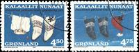 Grønland - Julefrimærker 1998