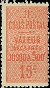 France - Colis postaux YT 30 - Neuf avec charnières