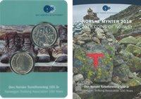 Norge moderne møntsæt 2018