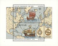 Færøerne - AFA 225a-26a - Stemplet miniark