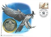 WWF Møntbrev - Slagfalk