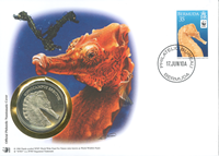 WWF Numiscover - Lined seahorse