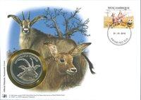 WWF Møntbrev - Roanantilope