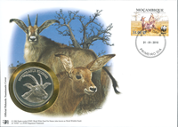 WWF Numiscover - Roan antelope