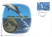 WWF Numiscover - Striped dolphin
