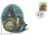 WWF Numiscover - South American sea lion