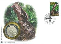 WWF Møntbrev - Gabonviper
