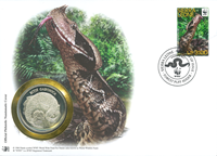 WWF Numiscover - Gaboon viper