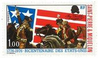 St Pierre Miq 449 * Indp. USA Bicentenaire indép. Etats-Unis