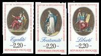 Frankrig - YT 2573-2575 utakket