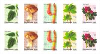 Danemark - Nourriture sauvage - Bande neuve 10v