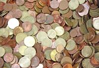 Euro coins - 1 kg