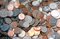 Mønter fra USA - 1 kilo
