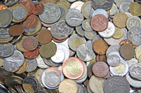 Coins from various countries - 1 kg