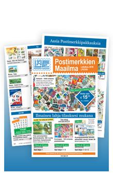 Postimerkkien Maailma - LPG185