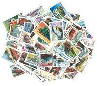 Diesel trains - 100 different stamps