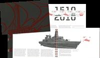 Danmark - Flåden - Postfrisk prestigehæfte PRH8