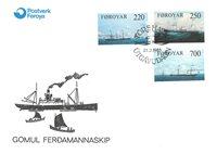 Færøerne - DFDS-Dampskibe