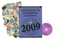 Hungary - 2000 different stamps and stamp catalogue 2009
