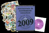 Hongarije - Postzegelcatalogus 2009 en pakket met 2000 versch. postzegels