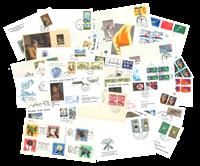 Divers pays - 100 enveloppes premier jour
