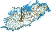 2017 奥尔德尼岛和巴劳岛地图 小型张 异形票