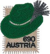 Autriche - Chapeau Tyrolien - Bloc-feuillet neuf