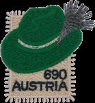 Østrig - Tyrolerhat - Postfrisk miniark