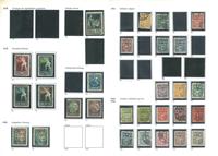Lituanie - Collection de timbres anciens