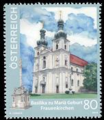 Autriche - Eglise *Frauenkirchen* - Timbre neuf