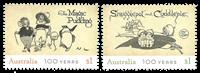 Australien - Tegneserier - Postfrisk sæt 2v