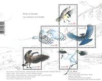 Canada - Canadas fugle - Postfrisk miniark