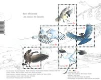 Canada - Oiseaux du Canada - Bloc-feuillet neuf