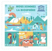 France - Unesco 2018 - Timbre neuf
