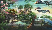 Hongrie - Dinosaures - Bloc-feuillet neuf