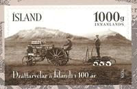 Islande - Tracteur Akranes - Timbre neuf