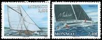 Monaco - Sejlads - Postfrisk sæt 2v