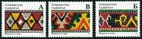 Tajikistan - Yvert 129A-C