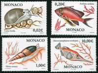 Monaco - YT 2327-30