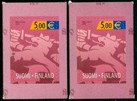 2 x Finlande - YT 1558
