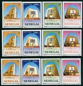 3x Senegal - Yvert 1653-6