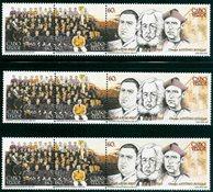3x Kap Verde - Yvert 753-5