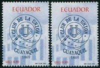 2 x Équateur - YT 1644