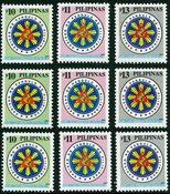 3 x Filipijnen - YT 2694-6
