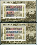 2 x Tristan da Cunha - YT BF38
