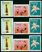 3 x Paraguay - YT 2821AC