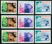 3 x Suisse - YT 1690/2